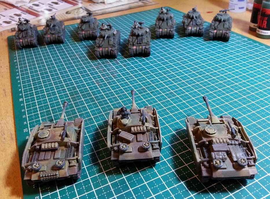 Flames of War Starter Set Tanks