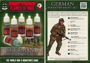 Flames of War Paint Set
