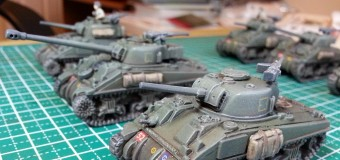 Flames of War Shermans