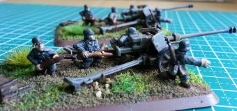 Flames of War Pak40s