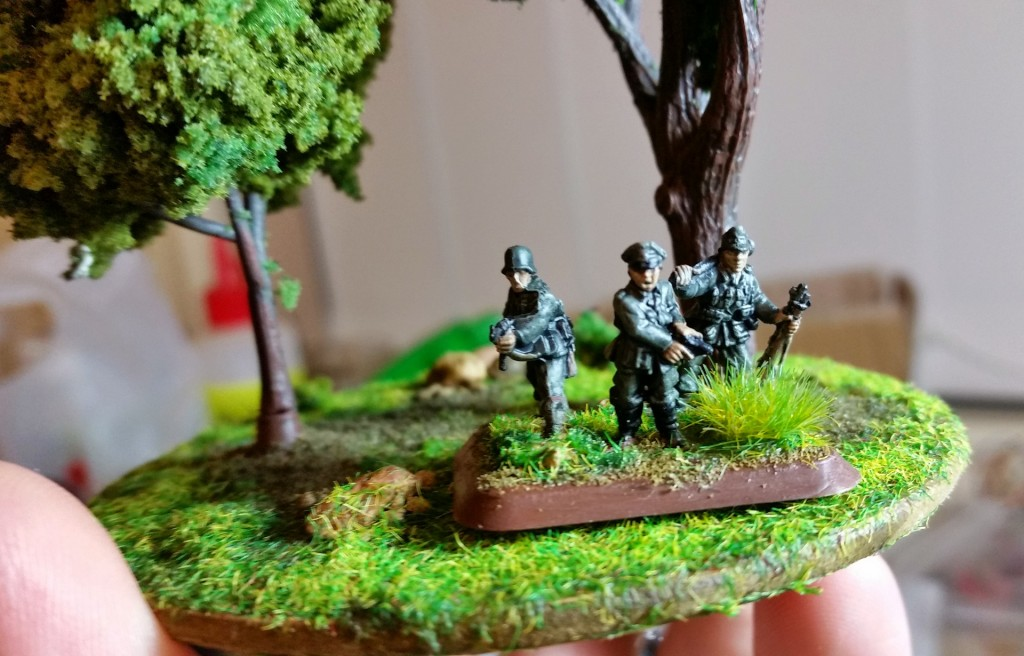 Trees with troops for comparison