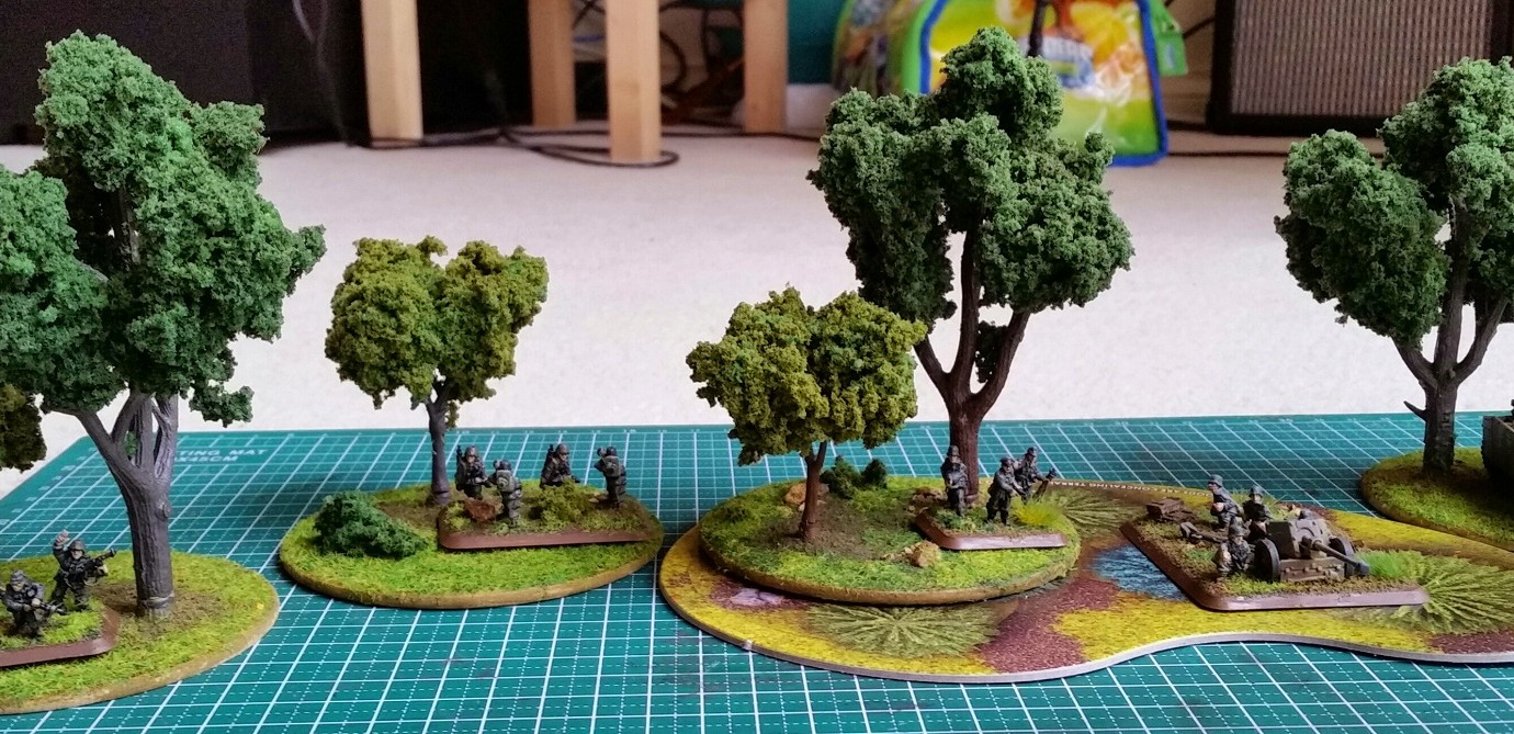 Completed set of trees