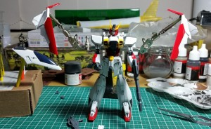 Gundam Airmaster waiting for his wings